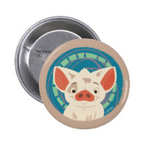 Moana | Pua The Pig Button