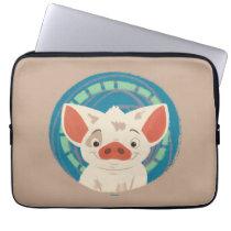 Moana   Pua The Pig Computer Sleeve