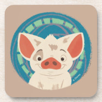 Moana | Pua The Pig Drink Coaster
