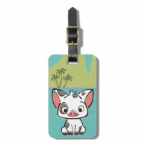 Moana | Pua The Pot Bellied Pig  Bag Tag