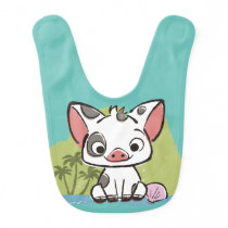 Moana | Pua The Pot Bellied Pig  Bib