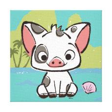 Moana | Pua The Pot Bellied Pig  Canvas Print