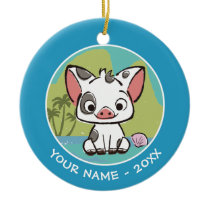 Moana | Pua The Pot Bellied Pig  Ceramic Ornament
