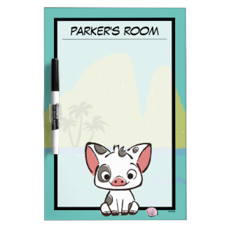 Moana | Pua The Pot Bellied Pig  Dry-Erase Board