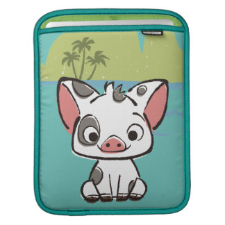 Moana | Pua The Pot Bellied Pig  iPad Sleeve