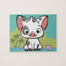 Moana | Pua The Pot Bellied Pig  Jigsaw Puzzle