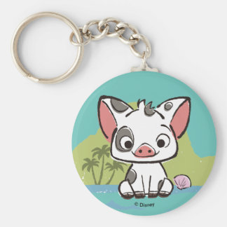 Moana | Pua The Pot Bellied Pig  Keychain