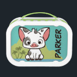 "Moana | Pua The Pot Bellied Pig  Lunch Box<br><div class=""desc"">Let us introduce Pua,  the pot-bellied pig from Moana. This playful piglet is the beloved pet,  sidekick and best friend of the Ocean princess,  Moana. Pua is the cutest,  cuddliest and fluffiest little pig you will ever see. Kids will love this adorable design featuring Disney&#39;s most loveable pig!</div>"
