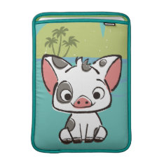 Moana | Pua The Pot Bellied Pig  Macbook Sleeve at Zazzle