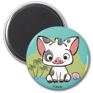 Moana | Pua The Pot Bellied Pig  Magnet