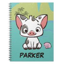 Moana   Pua The Pot Bellied Pig  Notebook