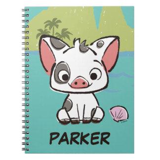 Moana | Pua The Pot Bellied Pig  Notebook