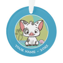 Moana | Pua The Pot Bellied Pig  Ornament