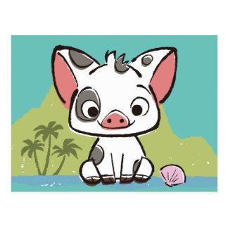 Moana | Pua The Pot Bellied Pig  Postcard