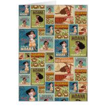 Moana | Retro Poster Pattern