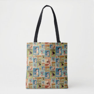 Moana | Retro Poster Pattern Tote Bag
