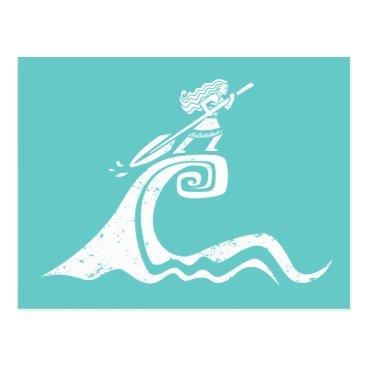 Disney Themed Moana | Sailing Spirit Postcard