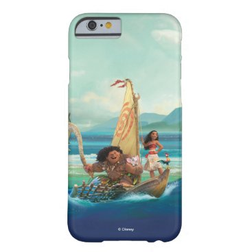 Disney Themed Moana | Set Your Own Course Barely There iPhone 6 Case