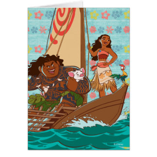 Moana | Set Your Own Course Card