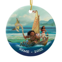 Moana | Set Your Own Course Ceramic Ornament