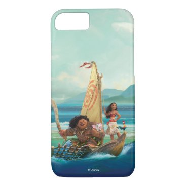Disney Themed Moana | Set Your Own Course iPhone 7 Case