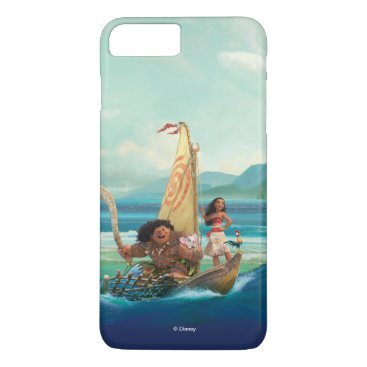 Disney Themed Moana | Set Your Own Course iPhone 7 Plus Case