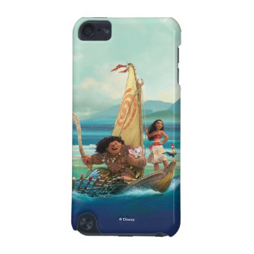 Disney Themed Moana | Set Your Own Course iPod Touch 5G Cover