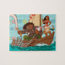Moana | Set Your Own Course Jigsaw Puzzle