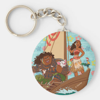 Moana | Set Your Own Course Keychain