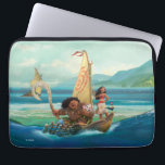 "Moana | Set Your Own Course Laptop Sleeve<br><div class=""desc"">Sail across the Pacific Ocean with Disney&#39;s Moana, an adventurous and headstrong young girl who strives to save the people of Motunui. Accompanied by the mighty Maui and her playful companions Pua and Heihei, this ocean princess is unstoppable! The intricate island style art work on this enchanting design will capture...</div>"