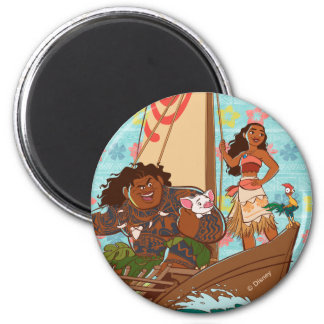 Moana | Set Your Own Course Magnet