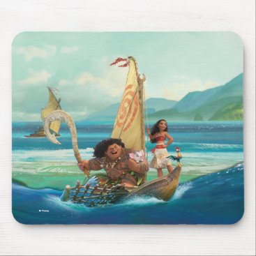 Disney Themed Moana | Set Your Own Course Mouse Pad