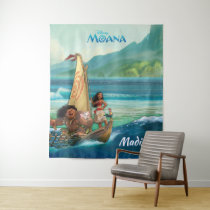 Moana | Set Your Own Course - Name Tapestry