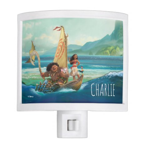 Moana   Set Your Own Course Night Light