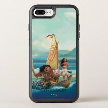 Disney Themed Moana | Set Your Own Course OtterBox Symmetry iPhone 7 Plus Case