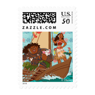 Moana | Set Your Own Course Postage