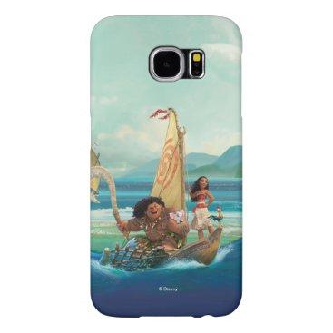 Disney Themed Moana | Set Your Own Course Samsung Galaxy S6 Case