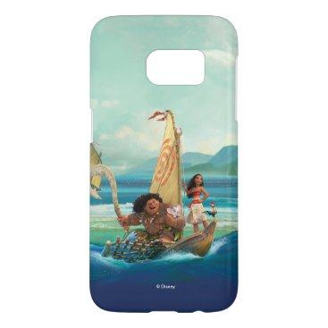 Disney Themed Moana | Set Your Own Course Samsung Galaxy S7 Case