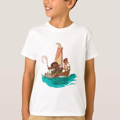 Moana  Set Your Own Course T_Shirt