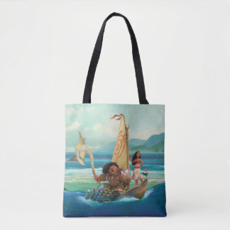 Moana | Set Your Own Course Tote Bag