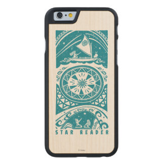 Moana | Star Reader Carved Maple iPhone 6 Slim Case