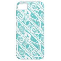 Moana | Teal Tribal Pattern iPhone SE/5/5s Case