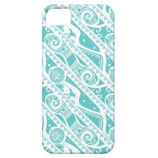Moana   Teal Tribal Pattern iPhone SE/5/5s Case