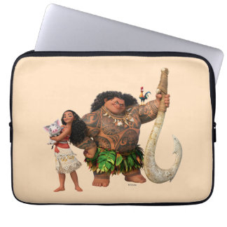 Moana | The Ocean Connects Us Laptop Sleeve