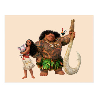 Moana | The Ocean Connects Us Postcard
