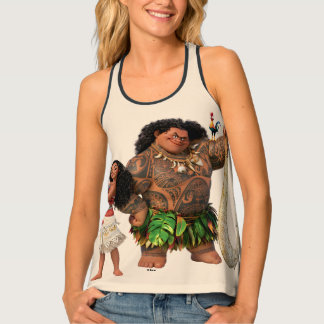 Moana | The Ocean Connects Us Tank Top