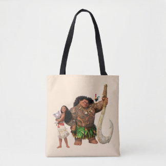 Moana | The Ocean Connects Us Tote Bag