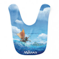 Moana | The Ocean Is Calling Baby Bib