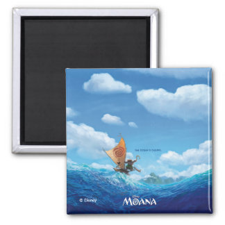 Moana   The Ocean Is Calling Magnet