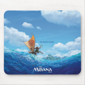 Moana | The Ocean Is Calling Mouse Pad
